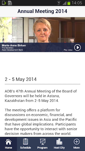 ADB Annual Meeting