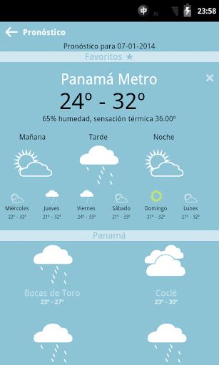 Tiempo y Mareas Panamá