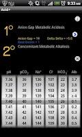 Screenshot of Acid Plus - The ABG Calculator