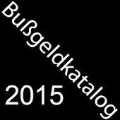 Bußgeldkatalog 2015