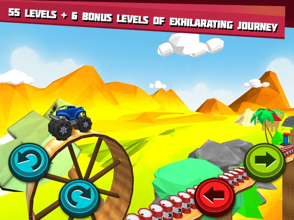 Monster Trucks Unleashed- screenshot