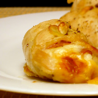 Prosciutto-Stuffed Chicken Breasts.