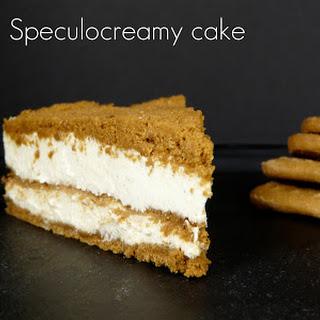 No-Bake Cheescake with Speculoos Cookie Crust.
