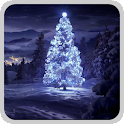 Christmas glowing tree LWP icon