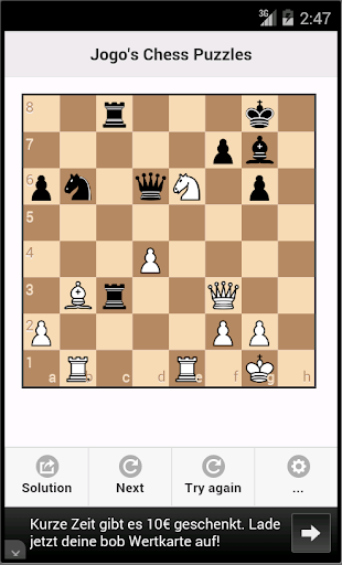 Chess puzzles Chess tactics