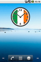 Screenshot of Ireland Clock