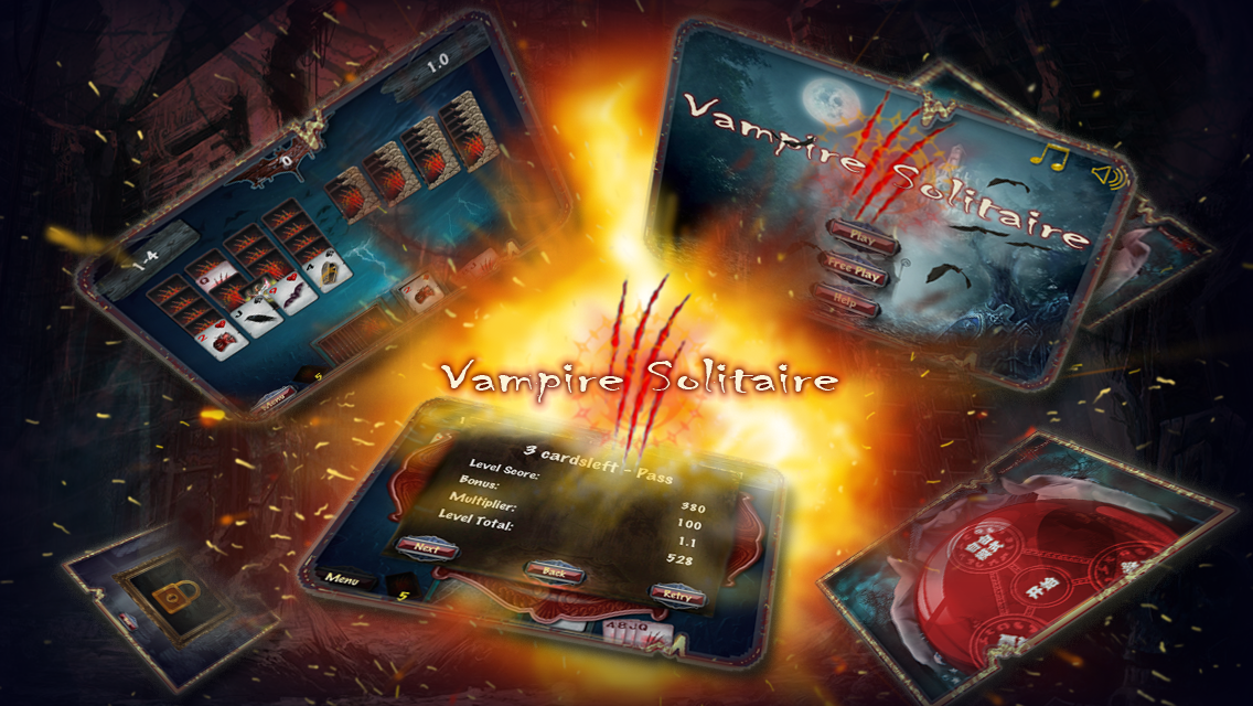 Vampire Solitaire - screenshot