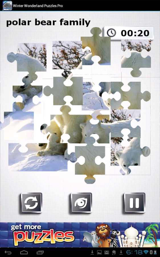 Winter Wonderland Puzzles - screenshot