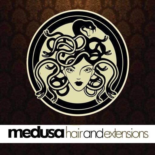 Medusa Hair and Extensions LOGO-APP點子