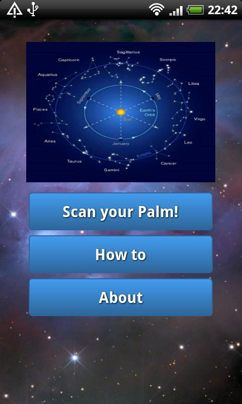 Palm Scanner - screenshot