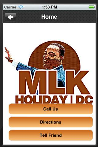 MLK Holiday DC - screenshot