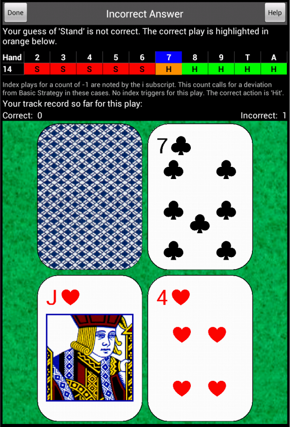 Deepnet blackjack