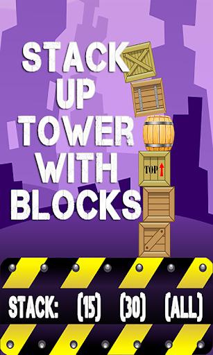 Stack Up Tower Blocks FREE