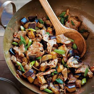 Spicy Pork and Eggplant Stir-Fry.