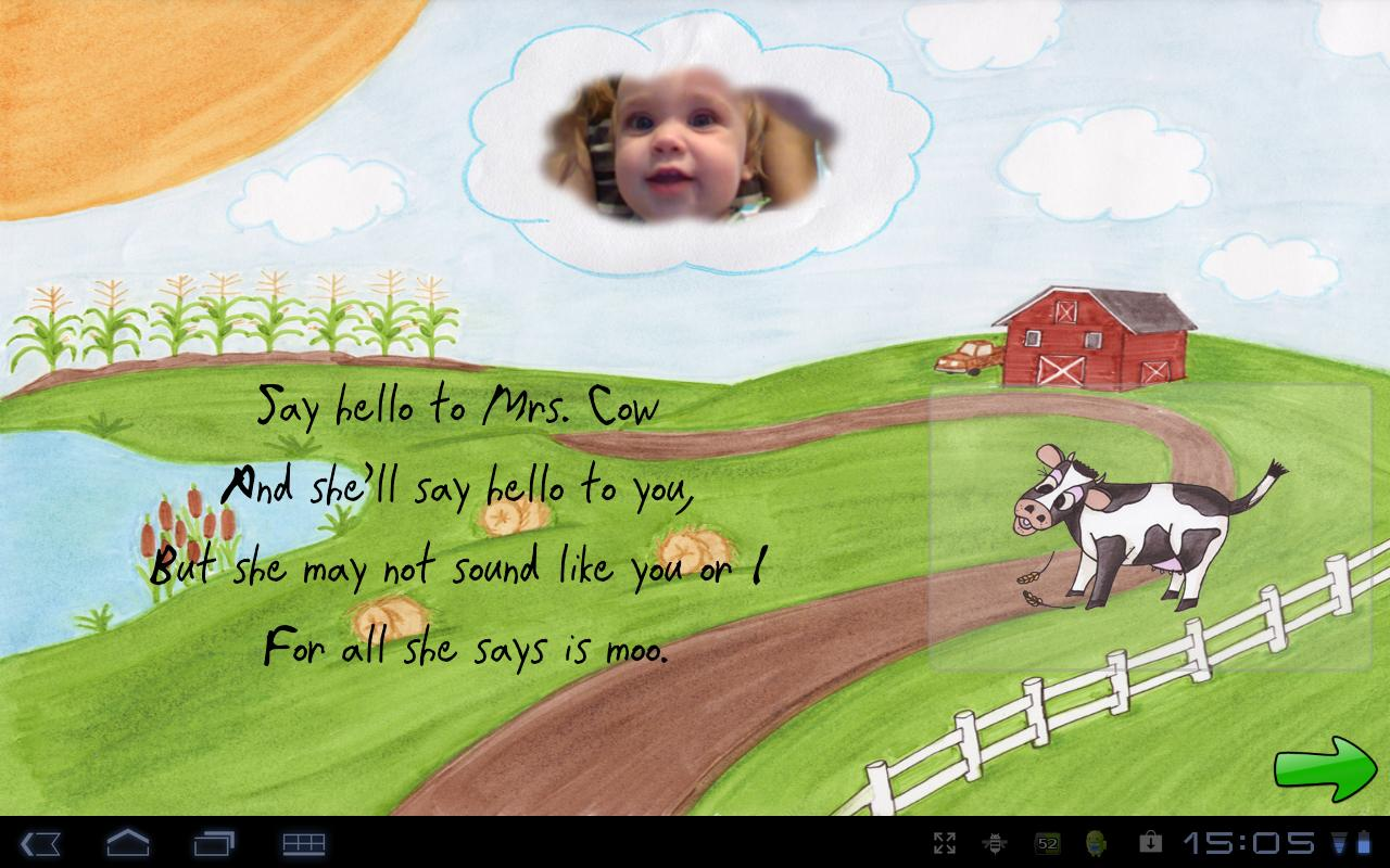 Cow Says Moo - Poetry for Kids- screenshot