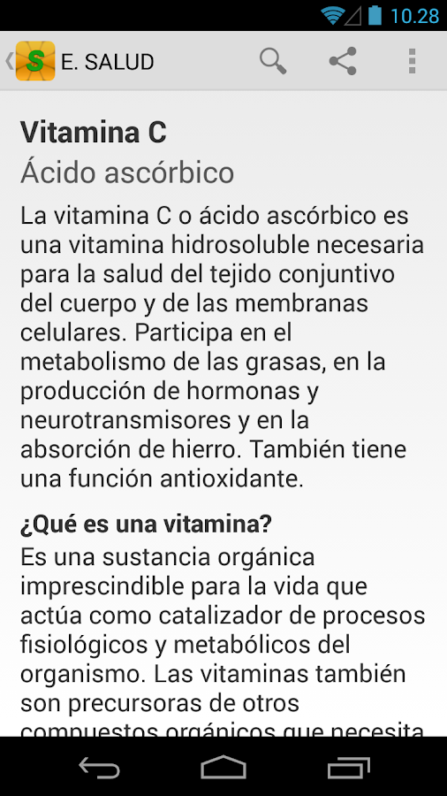 Enciclopedia Salud- screenshot