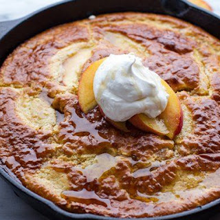 Make-Ahead Peach Breakfast Bake