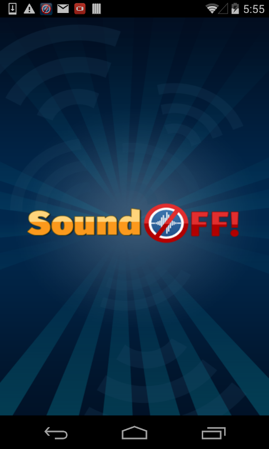 SoundOFF!- screenshot