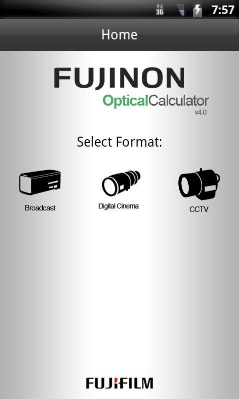 OptCal- screenshot