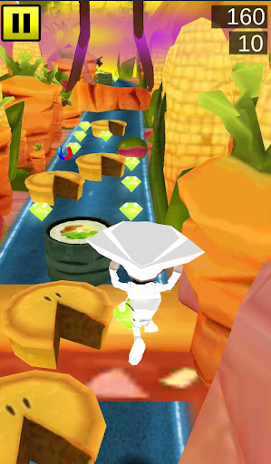 Running Crazy Chef - 3D Game