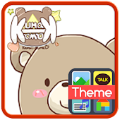 Kuma Kawa3 Emoticons