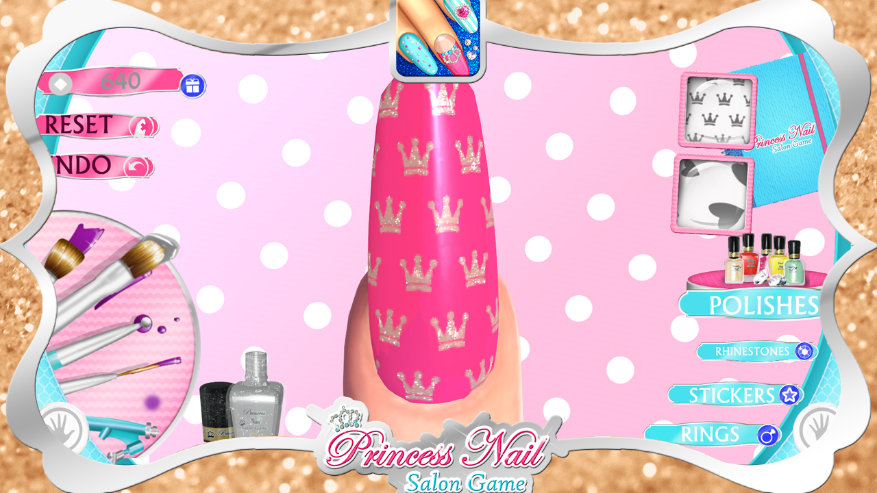 Princess nail salon game android apps on google play princess nail salon game screenshot prinsesfo Gallery