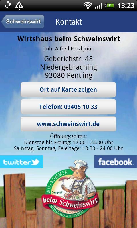 Schweinswirt- screenshot