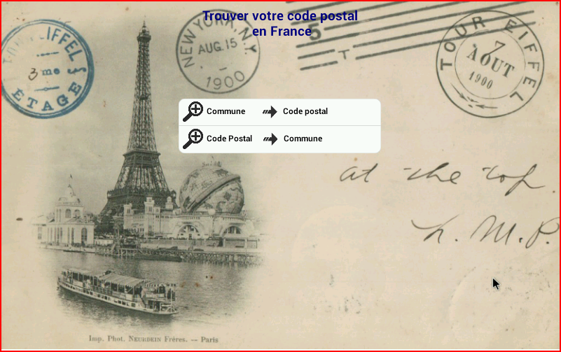 Code Postal France- screenshot