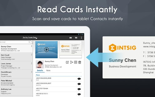 CamCard - Business Card Reader - screenshot thumbnail