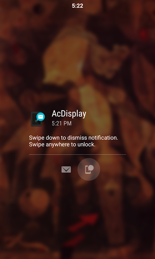 AcDisplay- screenshot
