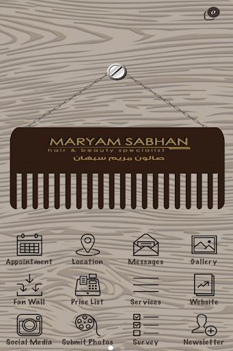 Maryam Sabhan Salon