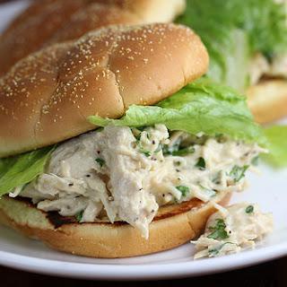 Chicken Caesar Sandwiches Recipe