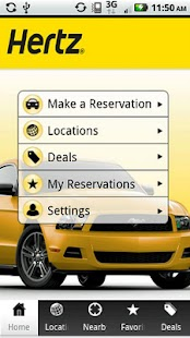 Hertz RentACar - screenshot thumbnail