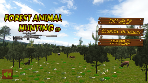Forest Animal Hunting - 3D