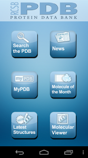 RCSB PDB Mobile- screenshot thumbnail