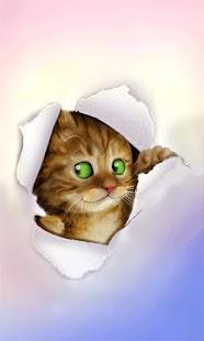 Silly Cat Live Wallpaper - screenshot thumbnail