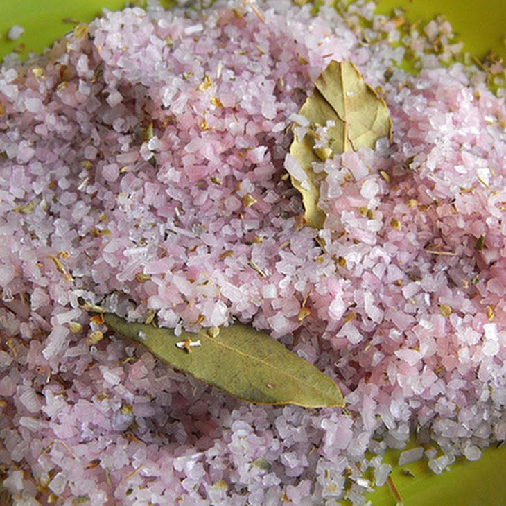 Red Wine Salt Recipe