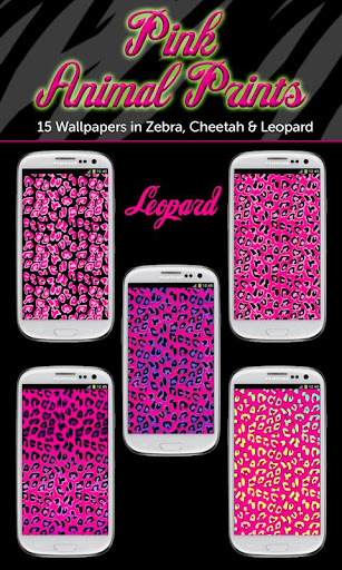 玩個人化App|Pink Animal Prints Wallpapers免費|APP試玩