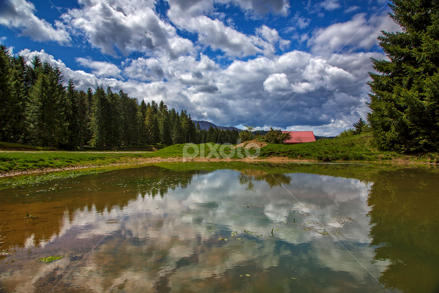 Mountain pond by Stanislav Horacek - Landscapes Weather