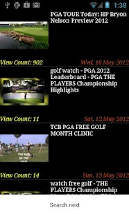 Golf NEWS - screenshot thumbnail