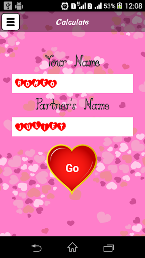 Love Calculator 2.0 app download 2