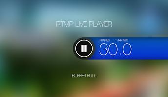 Screenshot of RTMP LIVE Stream Player