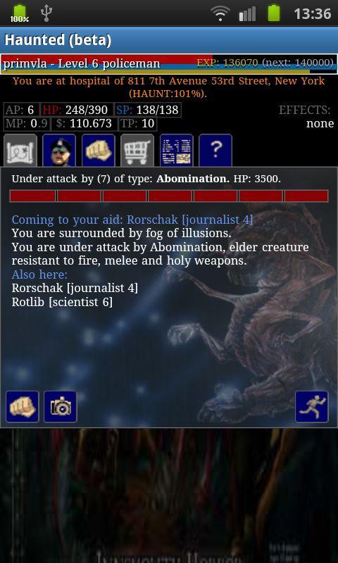 Haunted (beta)- screenshot