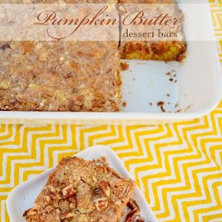 Pumpkin Butter Dessert Bars
