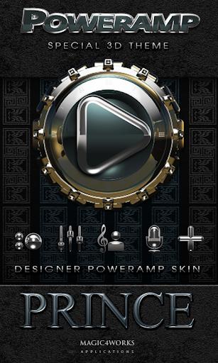 Poweramp skin Prince