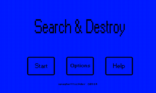 Search Destroy Game