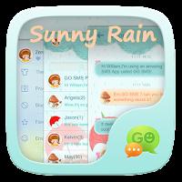 GO SMS SUNNYRAIN THEME 1.0