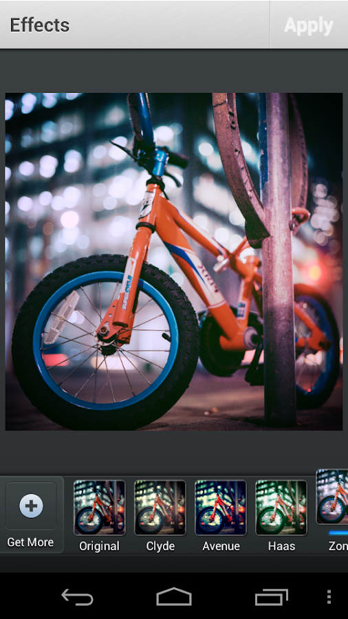 Photo Editor Professional - screenshot