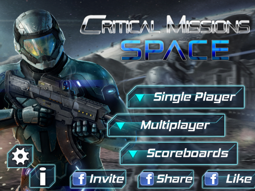 Critical Missions: SPACE - screenshot