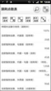 調剤点数表- screenshot thumbnail